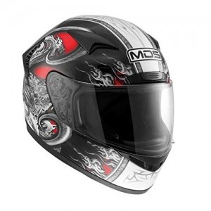 Casco AGV Helmets New Spinter MDS Rojo Talla L