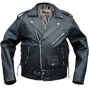 Chaqueta de piel rocker German Wear