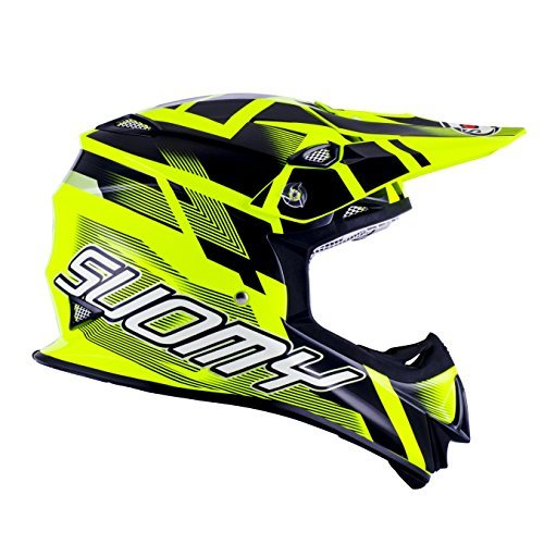 Casco Motocross MR Jump Suomy Amarillo Fluorescente/Negro XL 1