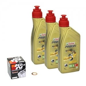 Kit aceite Castrol POWER1 10W-40 Yamaha YZF-R6