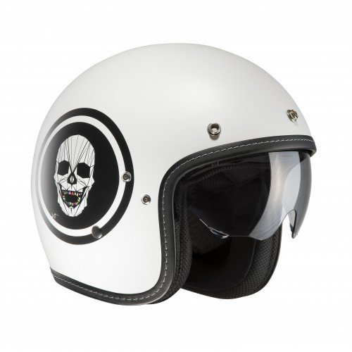 Casco HJC FG-70s APOL MC10SF Blanco Talla M 1
