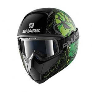 Casco Shark Vancore Ashtan verde mate Talla XL