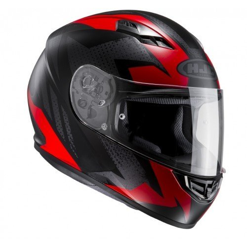Casco HJC CS-15 Treague Mc1sf Negro/Rojo XS 1