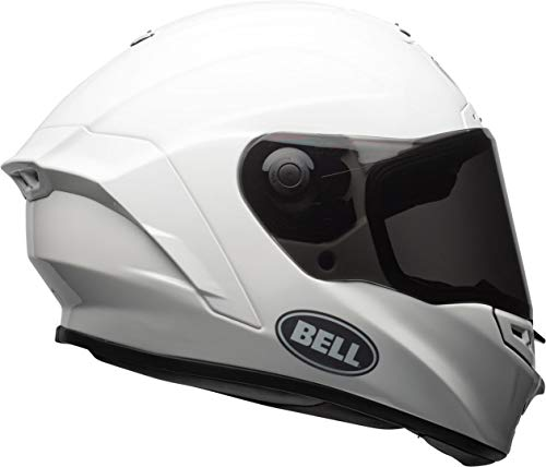 Casco Bell Star Mips Solid White L 1