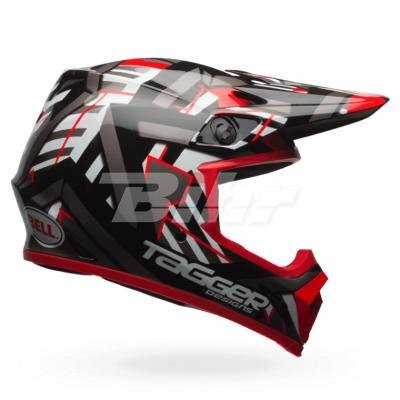 Casco Bell MX 2017 MX-9 MIPS Tagger Double Trouble XXL 1