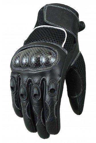 Guantes Bikers Gear Mesh carbono Negro talla M 1
