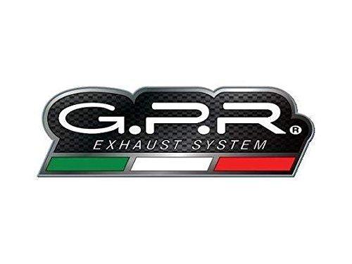 Escape dual GPR Evo Titanium Line para Suzuki V-Strom 1000 1