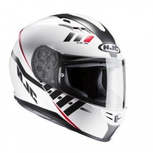 Casco HJC CS-15 Space White/Red XS