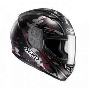 Casco HJC CS-15 Songtan Black/Red XL