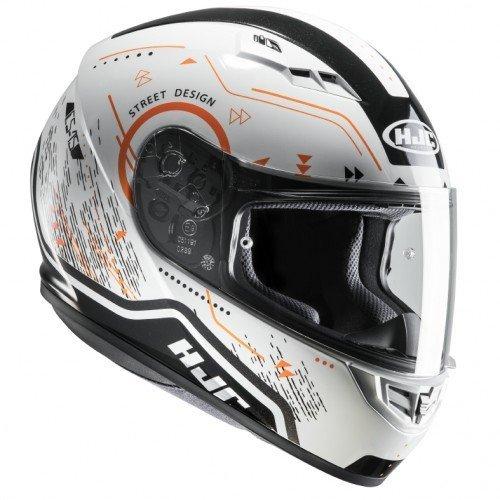 Casco HJC CS-15 Safa White/Orange XL 1