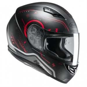 Casco HJC CS-15 Safa Black/Red Talla L