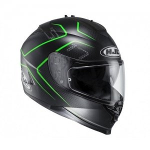 Casco HJC IS-17 Lank Black/Green M