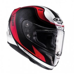Casco HJC R-PHA-11 Riomont BLACK/white/red M