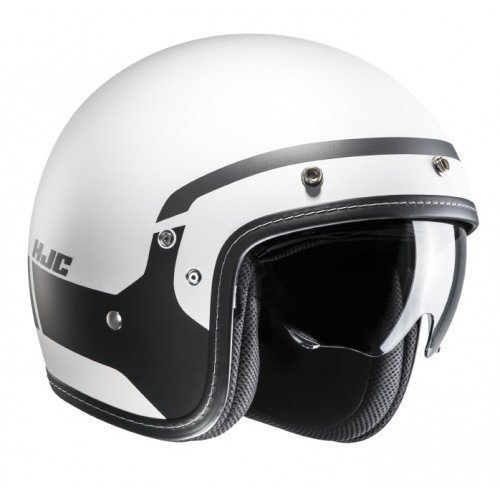 Casco HJC FG 70s modik mc5sf, color blanco/negro talla M 1