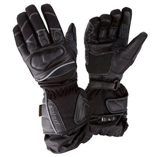 Guantes de Cuero Roleff Racewear Negro Talla L 1