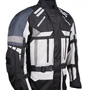 Chaqueta Roleff Racewear textil  con protecciones Gris S