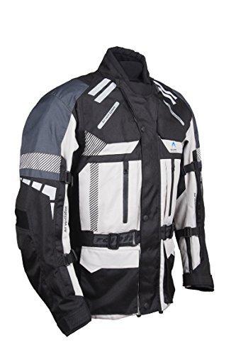 Chaqueta Roleff Racewear textil con protecciones Gris S 1