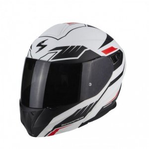 Casco Scorpion Exo 920 Shuttle Rojo Mate M