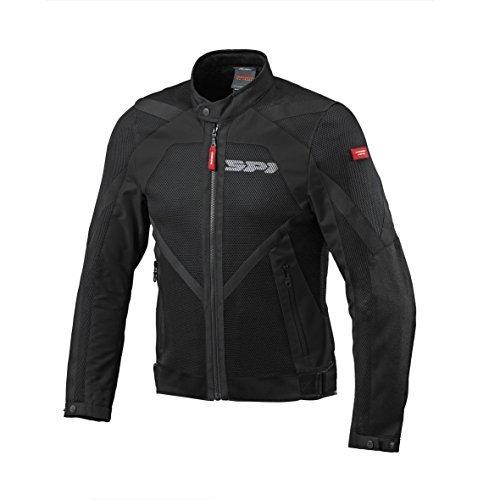 Chaqueta SPIDI Cilindro de Textile Netstream, Black Talla L 1