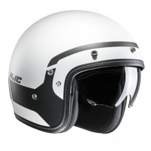 Casco HJC FG-70s Modik MC5SF Negro/blanco Talla L