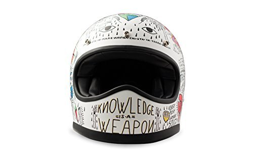 Casco retro DMD Racer Tribal XXL 1