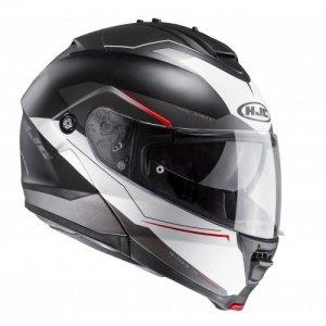 Casco HJC IS-MAX II Magma Black/White/Red S