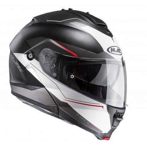 Casco HJC IS-MAX II Magma Black/White/Red S 1
