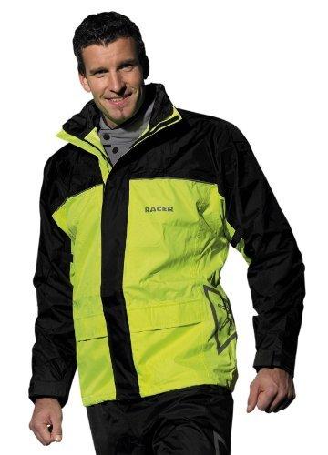 revisa siempre popular claro y distintivo Chaqueta fluorescente para lluvia Racer 820 XL