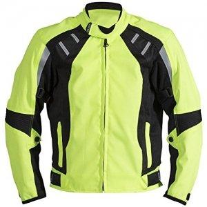 Chaqueta Racer Cool 2 Textil Amarillo Fluorescente L
