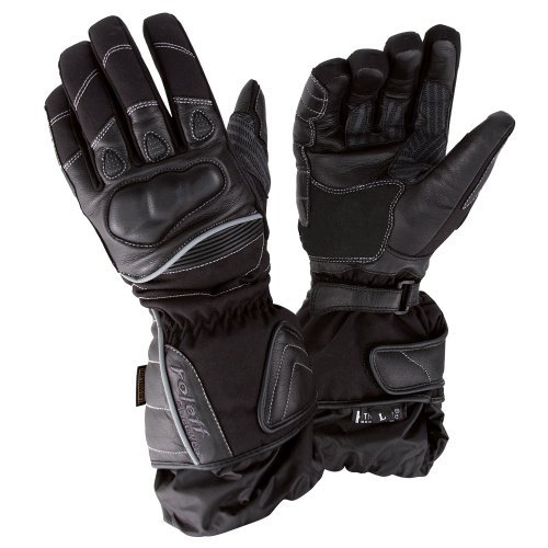 Guantes cuero Roleff Racewear Negro XL 1
