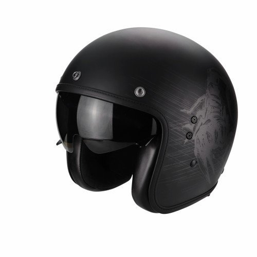 Casco Scorpion Belfast Sting Matt black XL 1