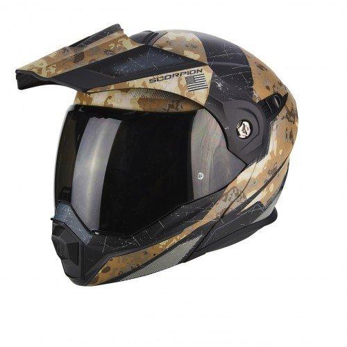 Casco Scorpion ADX-1 negro/arena XS 1