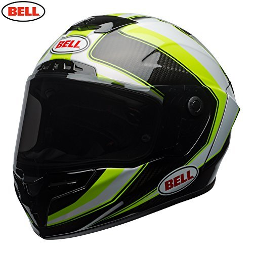 Casco Bell Race Star Sector White/Hi Viz Talla L 1
