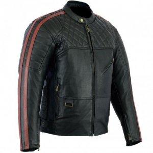 Chaqueta piel Bikers Gear Australia Barón Rojo S