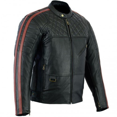 Chaqueta piel Bikers Gear Australia Barón Rojo S 1
