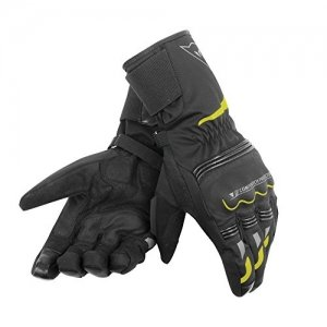 Guantes Dainese Tempest D-Dry Negro/Fluo Amarillo XXS