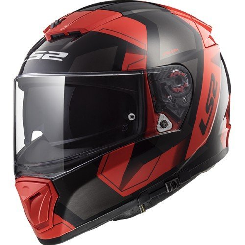 Casco LS2 Breaker Physics Negro/Rojo S 1