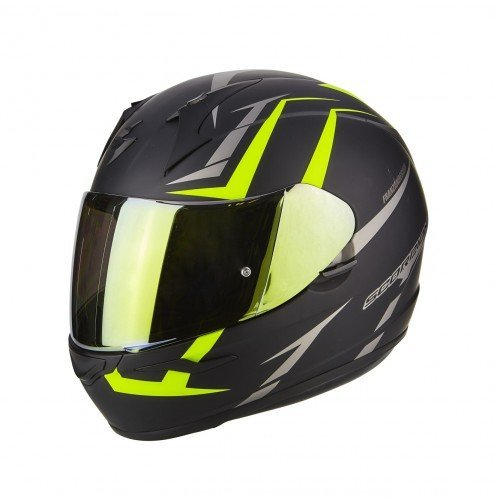 Casco Scorpion Exo 390 Hawk Negro/Amarillo S 1