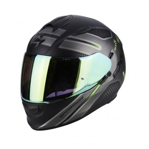 Casco Scorpion Exo 510 Air Ruta Negro/Verde XL 1