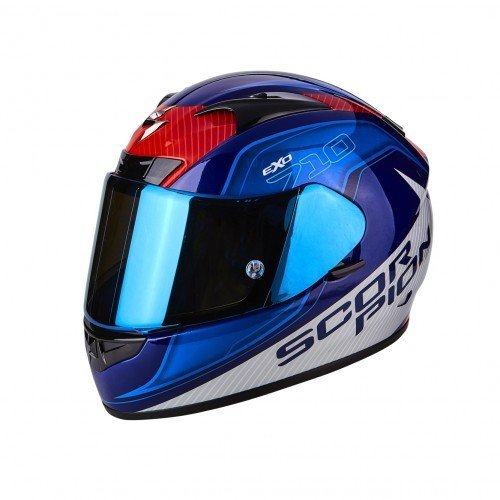 Casco Scorpion EXO-710 Air Mugello azul XS 1