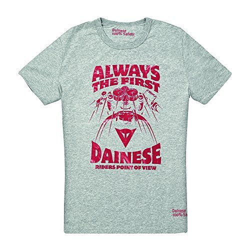 Camiseta Dainese Always the First Gris XS 1