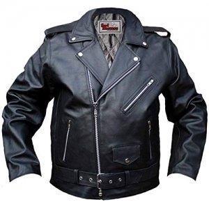 Chaqueta piel German Wear Rockabilly Talla 48