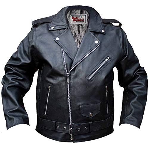 Chaqueta piel German Wear Rockabilly Talla 48 1