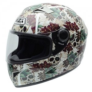 Casco NZI Vital Graphics Crossbones Talla S