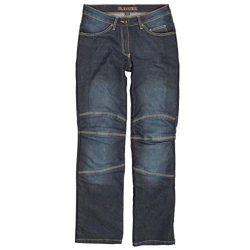Pantalones Racer Cordura Kevlar Azul Lavado XL 1
