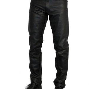 Pantalones cuero Roleff Racewear Negro 46