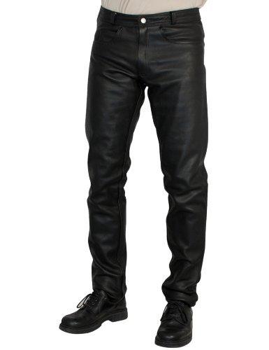 Pantalones cuero Roleff Racewear Negro 46 1