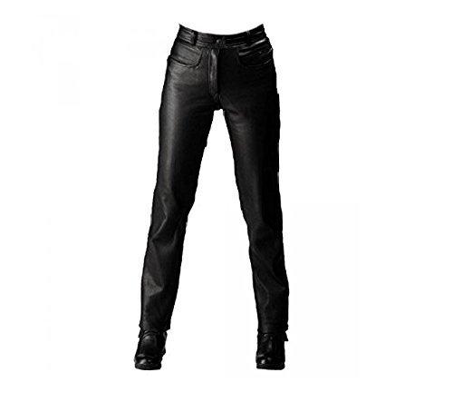 Pantalones cuero Roleff Racewear, Negro, 50 1