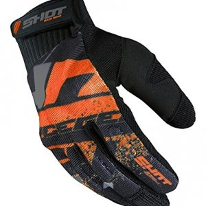 Guantes cross SHOT Drift naranja Talla S