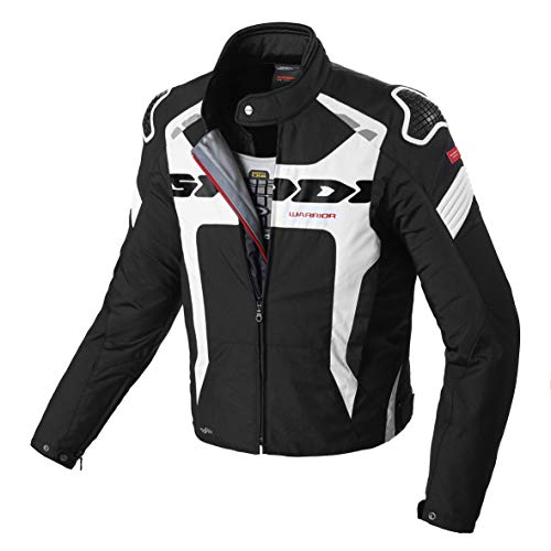 Chaqueta SPIDI Warrior H2Out Negro/Blanco 3XL 1